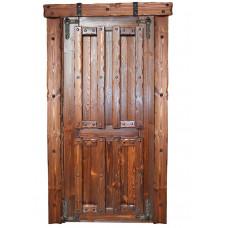 Дверь межкомнатная Добряк 4 (полотно) 2000