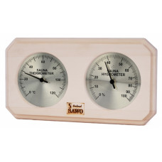 SAWO Термогигрометр 221TH стрелочный квадратный