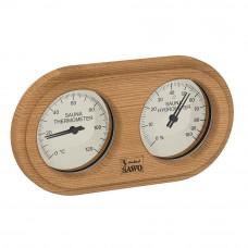 SAWO Термогигрометр 222TH стрелочный закругленный