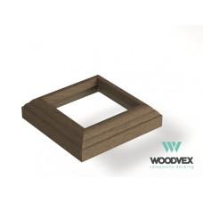 ДПК Крышка нижняя для столба WV Select Colorite 3D 140x140 мм, цвета в ассортименте