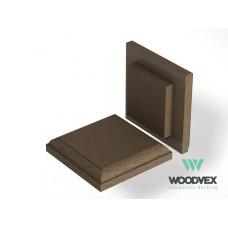 ДПК Крышка верхняя для столба WV Select Colorite 3D 140x140 мм,  цвета в ассортименте