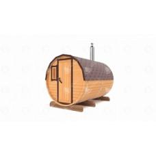 Комплект для бани-бочки Стандарт (кедр) 3 м, 2 отделения