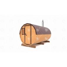 Комплект для бани-бочки Стандарт (кедр) 4м, 2 отделения