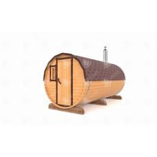 Баня-Бочка Стандарт (кедр) цельная 4,5 м,  2 отделения