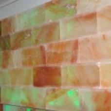 Стена из Гималайской соли, скрытый крепеж плика 200*100*25, шлифованная