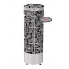 Электрокаменка HARVIA 'Cilindro' EE (с выносным пультом, нерж. сталь)