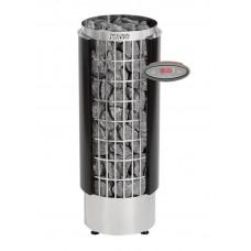 Электрокаменка HARVIA 'Cilindro' HEE (с выносным пультом, черная)