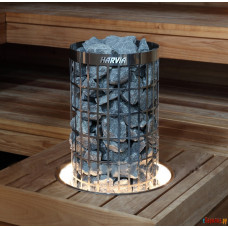 Монтажный фланец HPC2L со светодиодной подсветкой для HARVIA 'Cilindro'