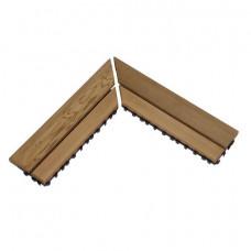 SAWO Коврик деревянный на пол 280х15мм,угловой 595-CNR